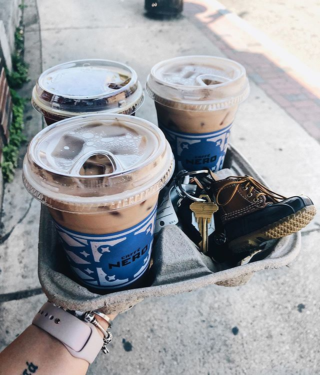 it's a @cafe.nero kinda sunday • • • • #coffeeshots #coffeeporn #boston #bostonblogger #cafenero