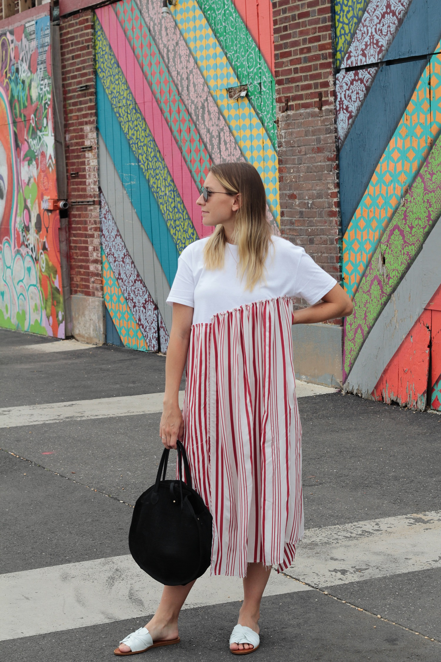 zara striped dress - Shop similar hereand here