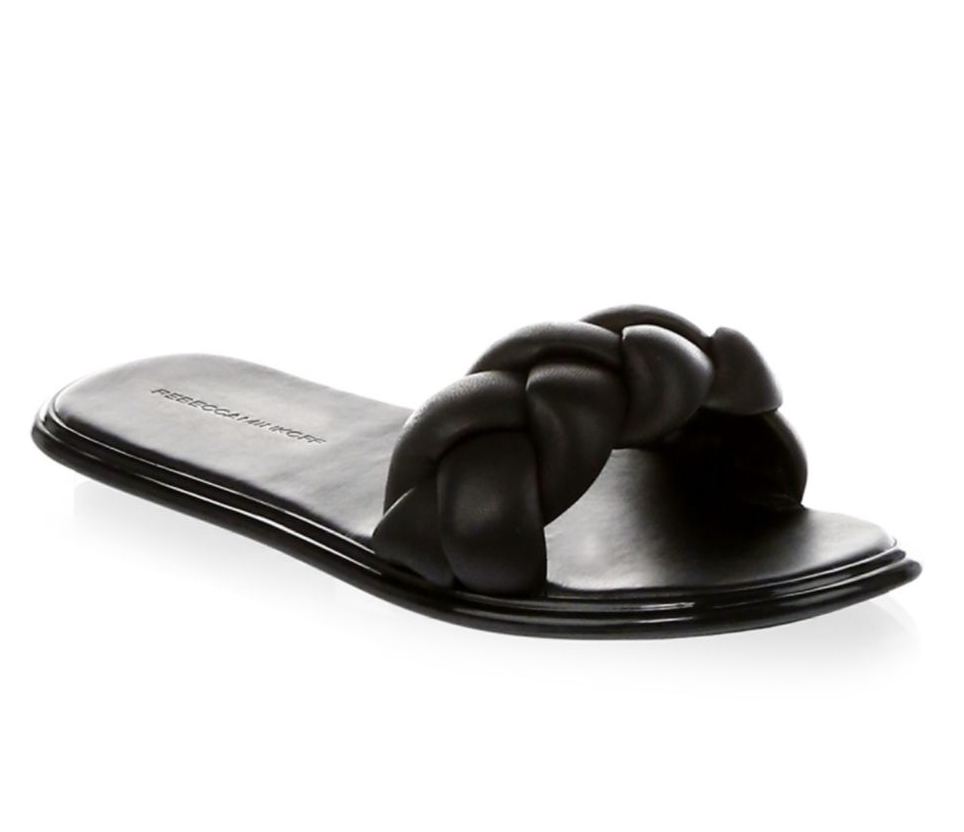 Rebecca Minkoff - Braided Leather Slides