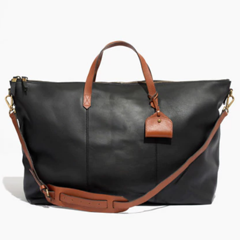 Madewell - My favorite weekend bag, the Transport Weekender (canvas currently sold out)