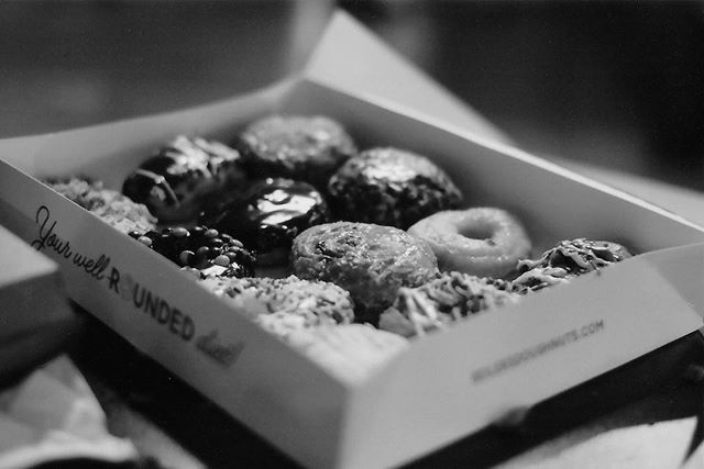 The blueberry fritter was the best in case you were wondering 🍩🍩🍩 #35mm #philly