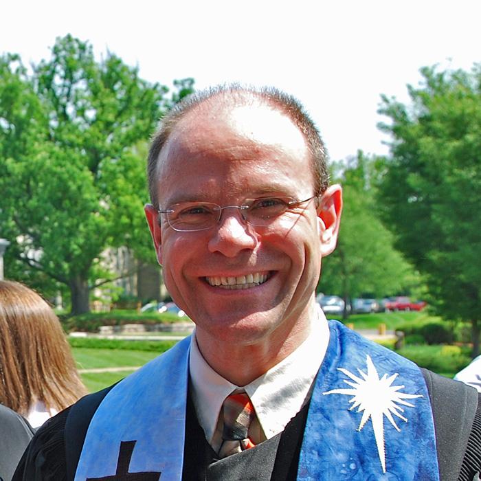 Our pastor, Rev. Dr. Dietmar Plajer