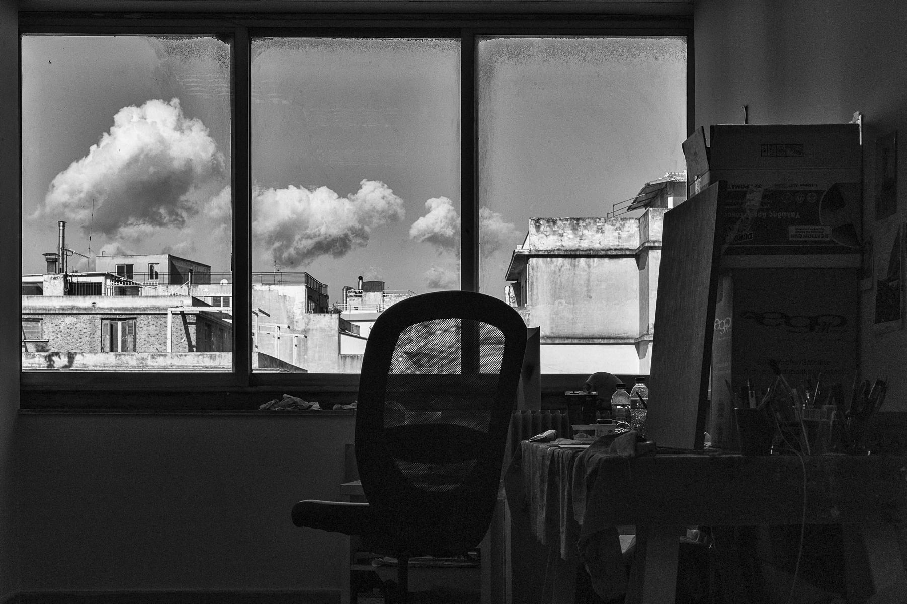 the Athens studio