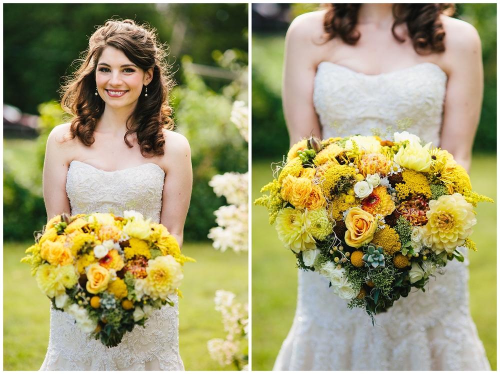 Bridal bouquets - Photo Courtesy of Emily Tebbetts Photography