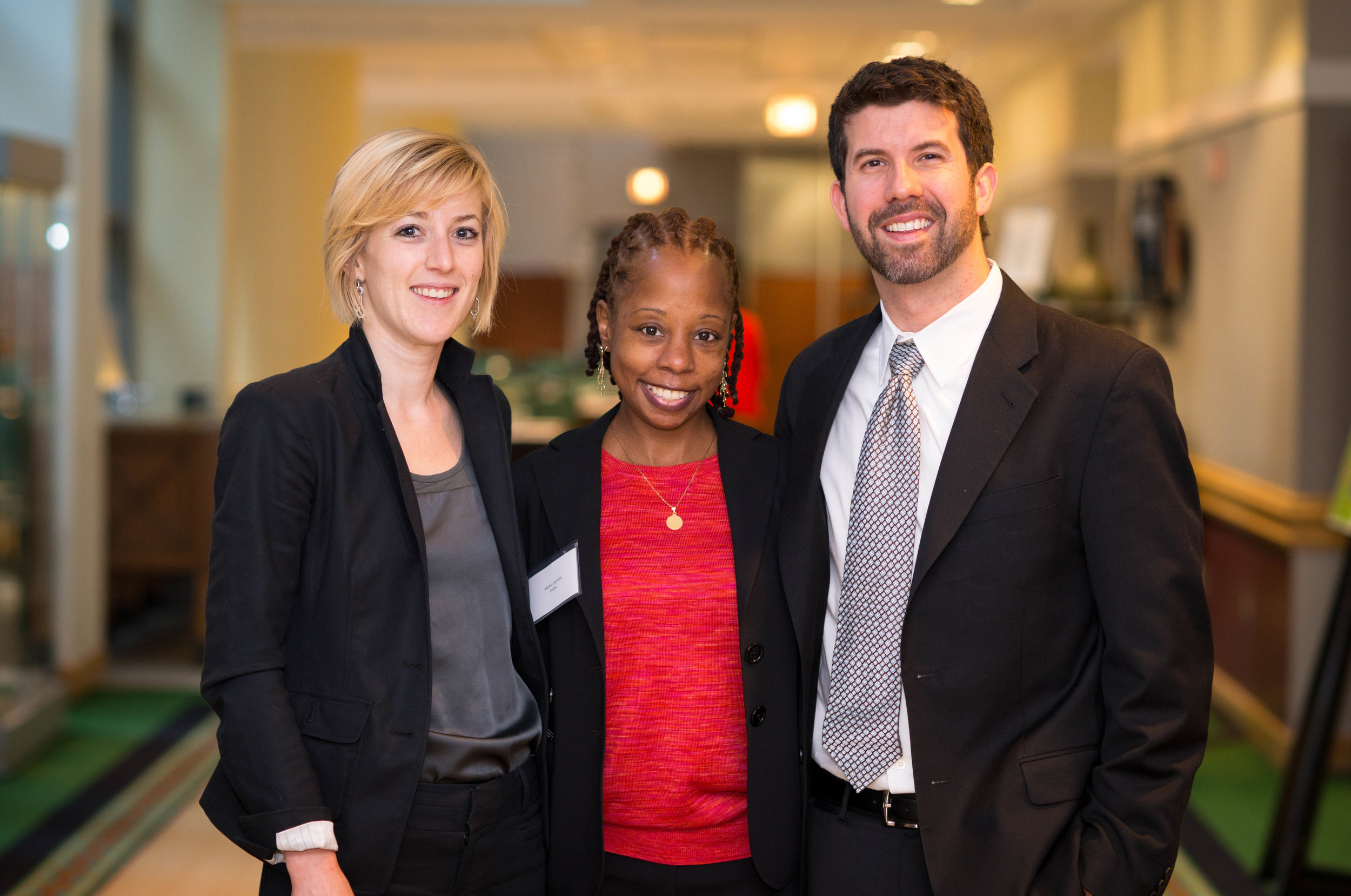 Green Building Division 2013 (from left to right): Kimberly Newcomer, Malkia Garrett and Dave Epley.