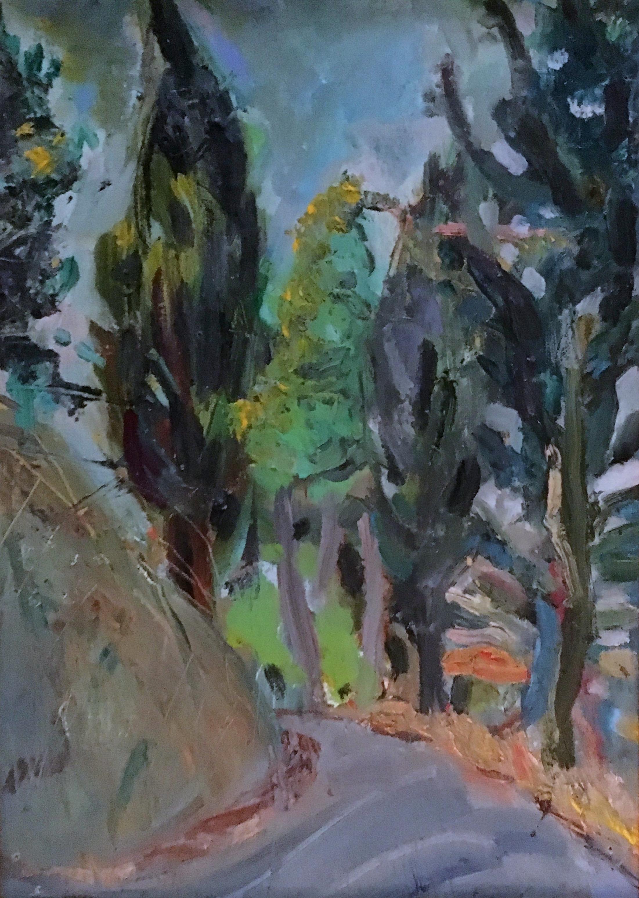 Umbrian Mountain Road