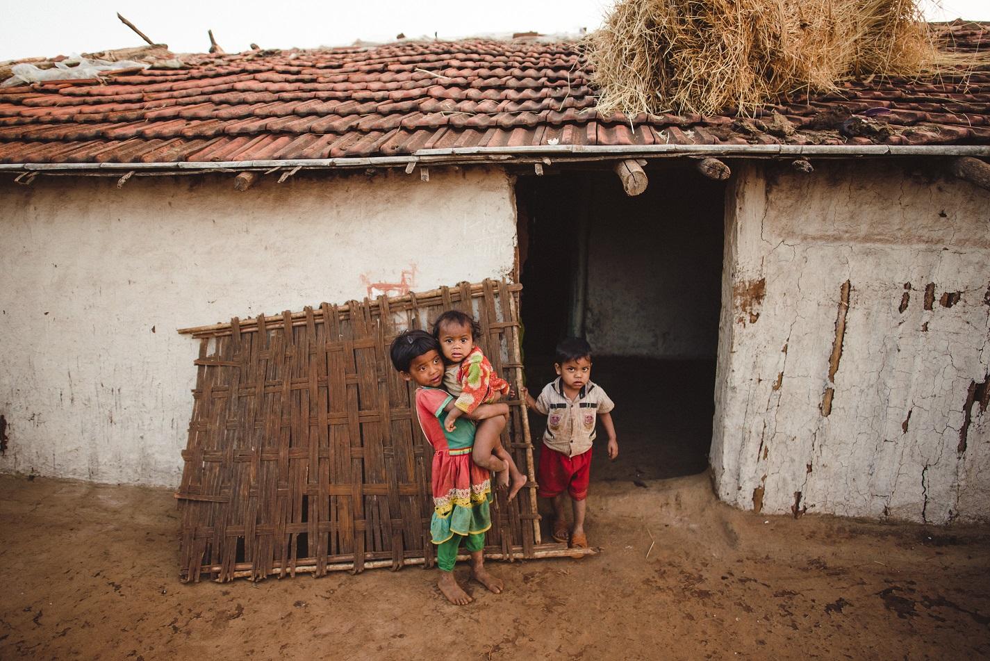 Children front of house.jpg