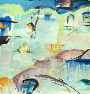 Michael Mazur, Oil on vellum