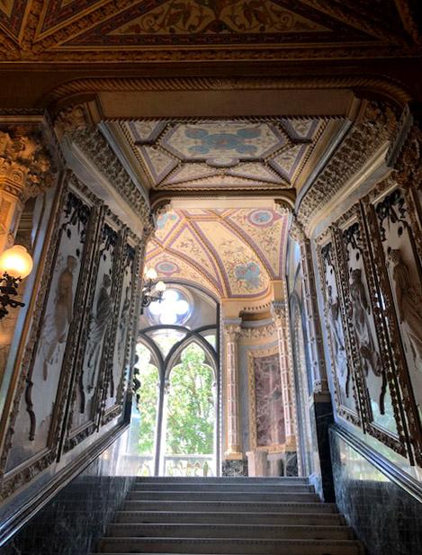 Interior of Palazzo Franchetti