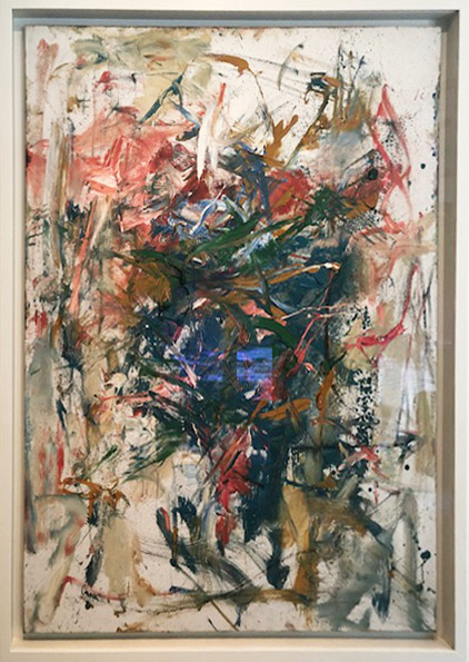 Joan Mitchell,  Composition,  Oil on canvas. 1962.