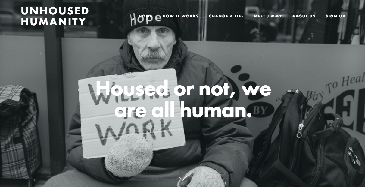 Unhoused Humanity is currently raising funds to place three more clients in a home.