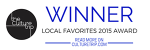 Pago selected as one of The Culture Trip's Salt Lake City's Local Favorite 2015 Award!