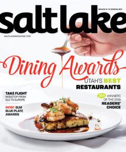 Pago selected as Salt Lake Magazine READER'S CHOICE for Best Restaurant in Utah 2018.