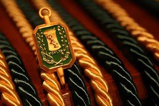 PLS Graduation Cords and Pin