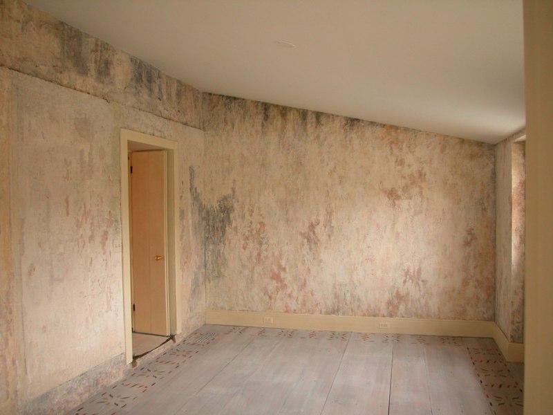 Distressed Wall Finish