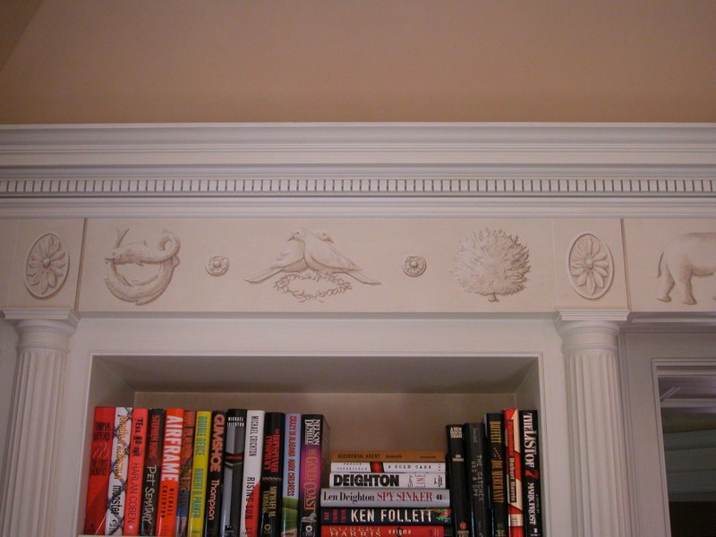 Copy of Painted Frieze