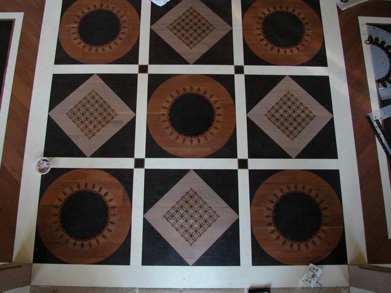 Patterned Floor Design