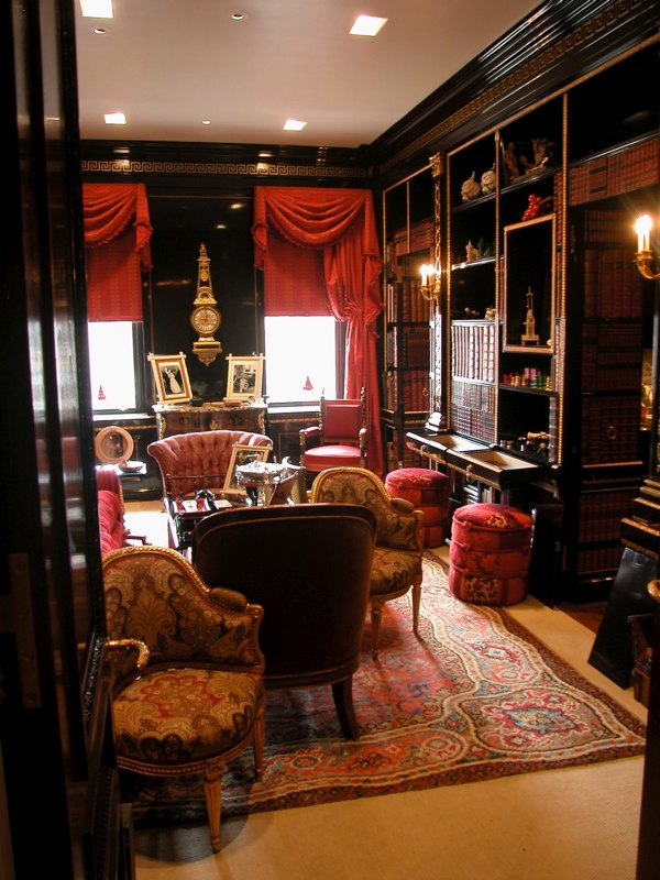 Glazed, Gilded, & Lacquered Library