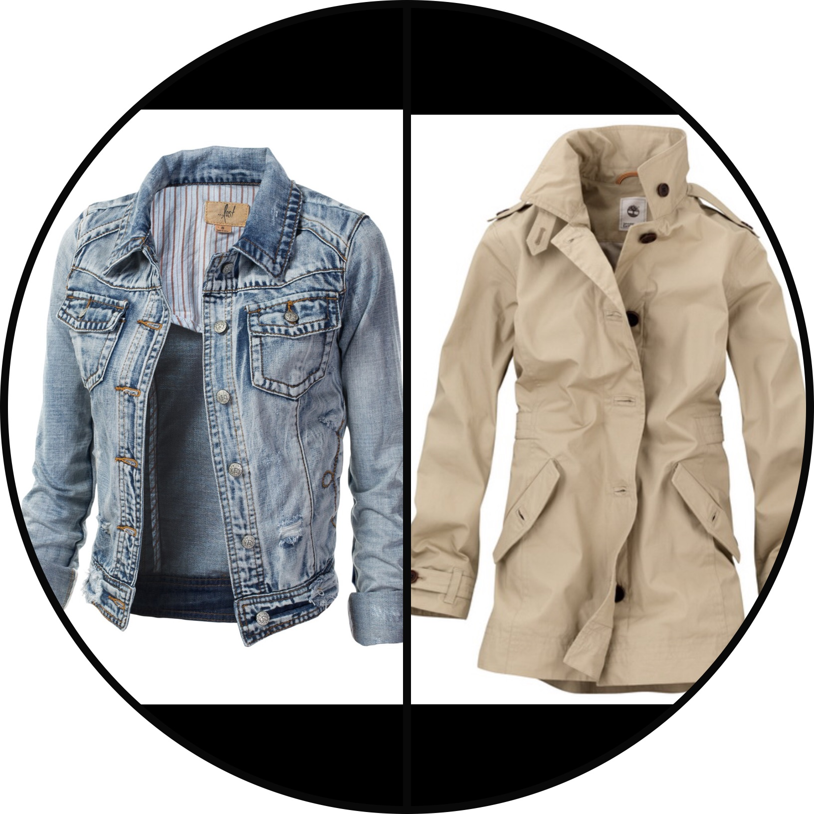 Great easy coats to wear and super cute!