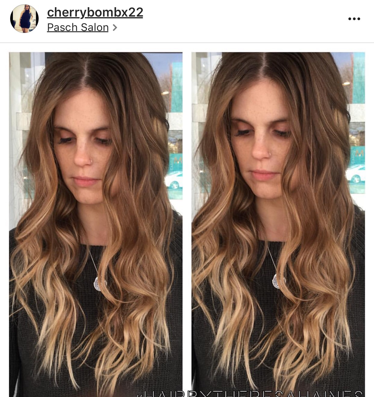 Theresa from Pasch Salon!   Check her out!! Follow her page!! Amazing Colorist