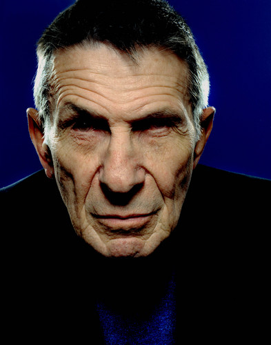 Leonard Nimoy (From @TheRealNimoy -- All Rights Reserved and Copyrights Acknowledged)