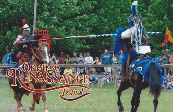 (Photo used from Oklahoma Renaissance Festival official website - 2015)