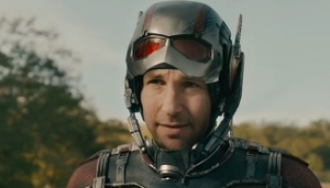 Paul Rudd portrays Ant-Man.