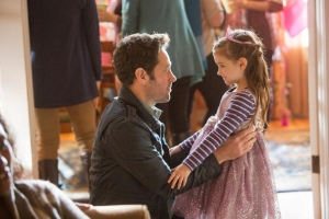 The movie Ant-Man explores father-daughter relationships.