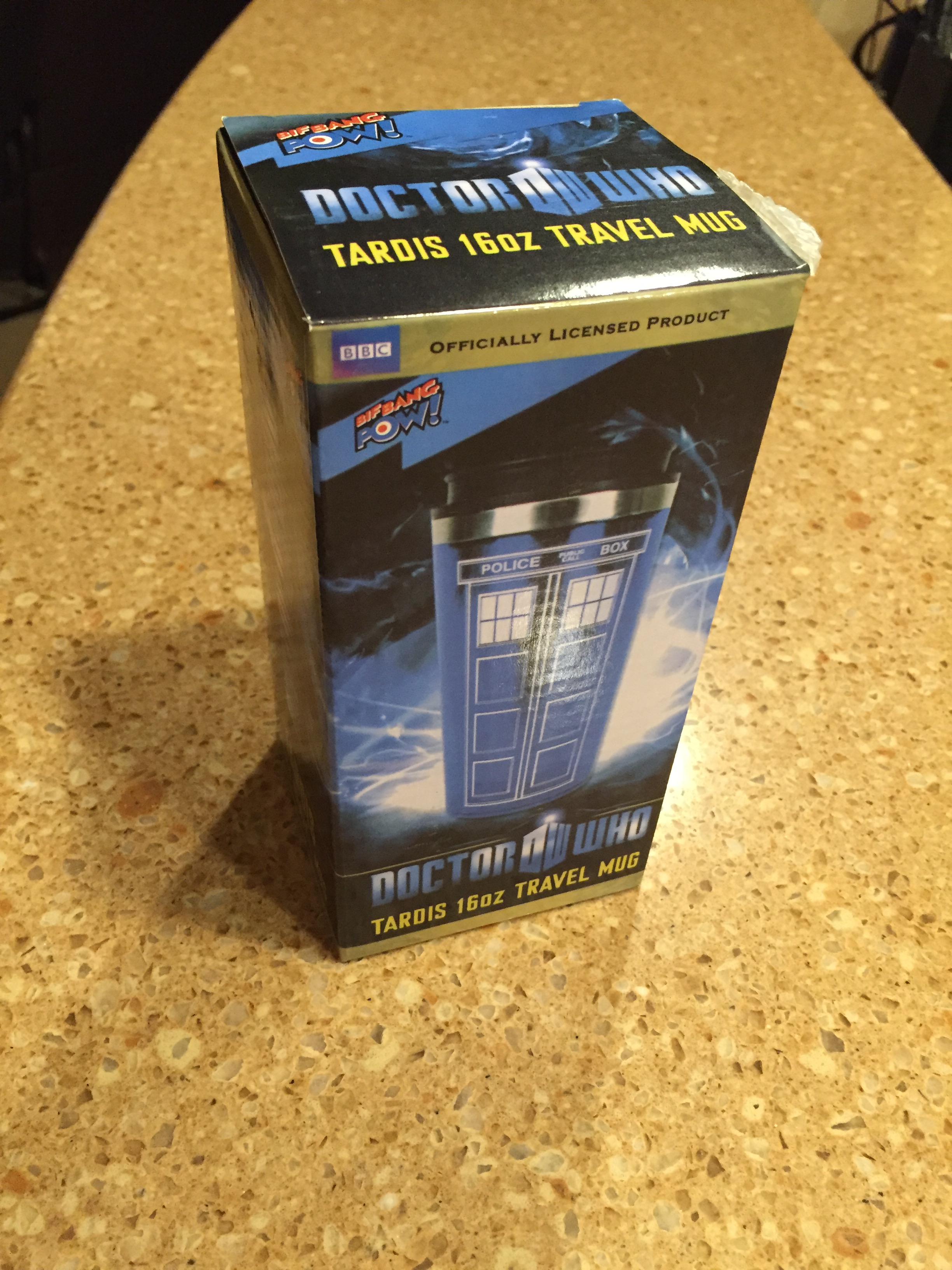 [Doctor Who Travel Mug -- PHOTO COPYRIGHT 2016 BY JAZ PRIMO]