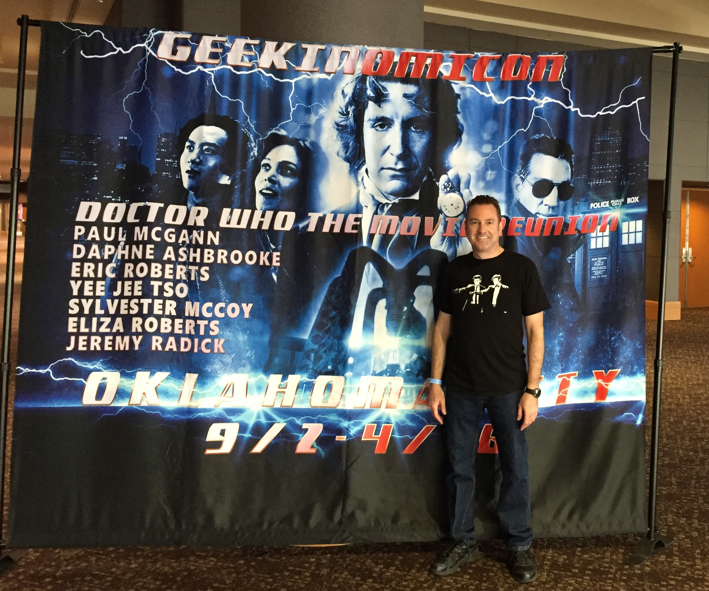 [Jaz at Geekinomicon 2016 -- PHOTO COPYRIGHT 2016 BY JAZ PRIMO]