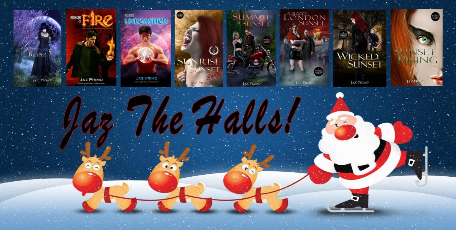 """Santa says, """"Christmas is coming, so take part in Jaz the Halls!"""""""