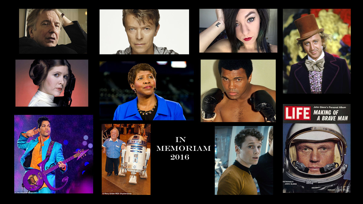 Those who passed in 2016.
