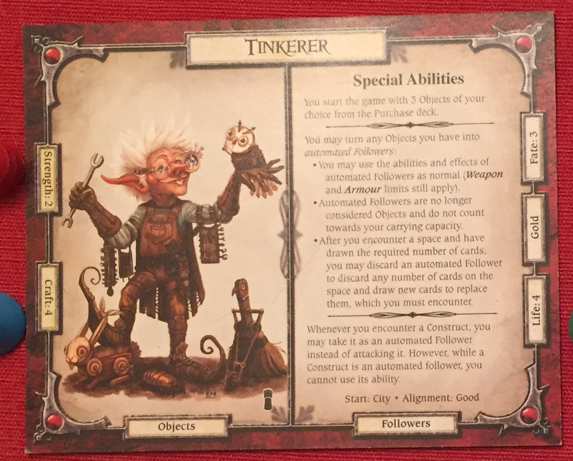 The Tinkerer character from Talisman.