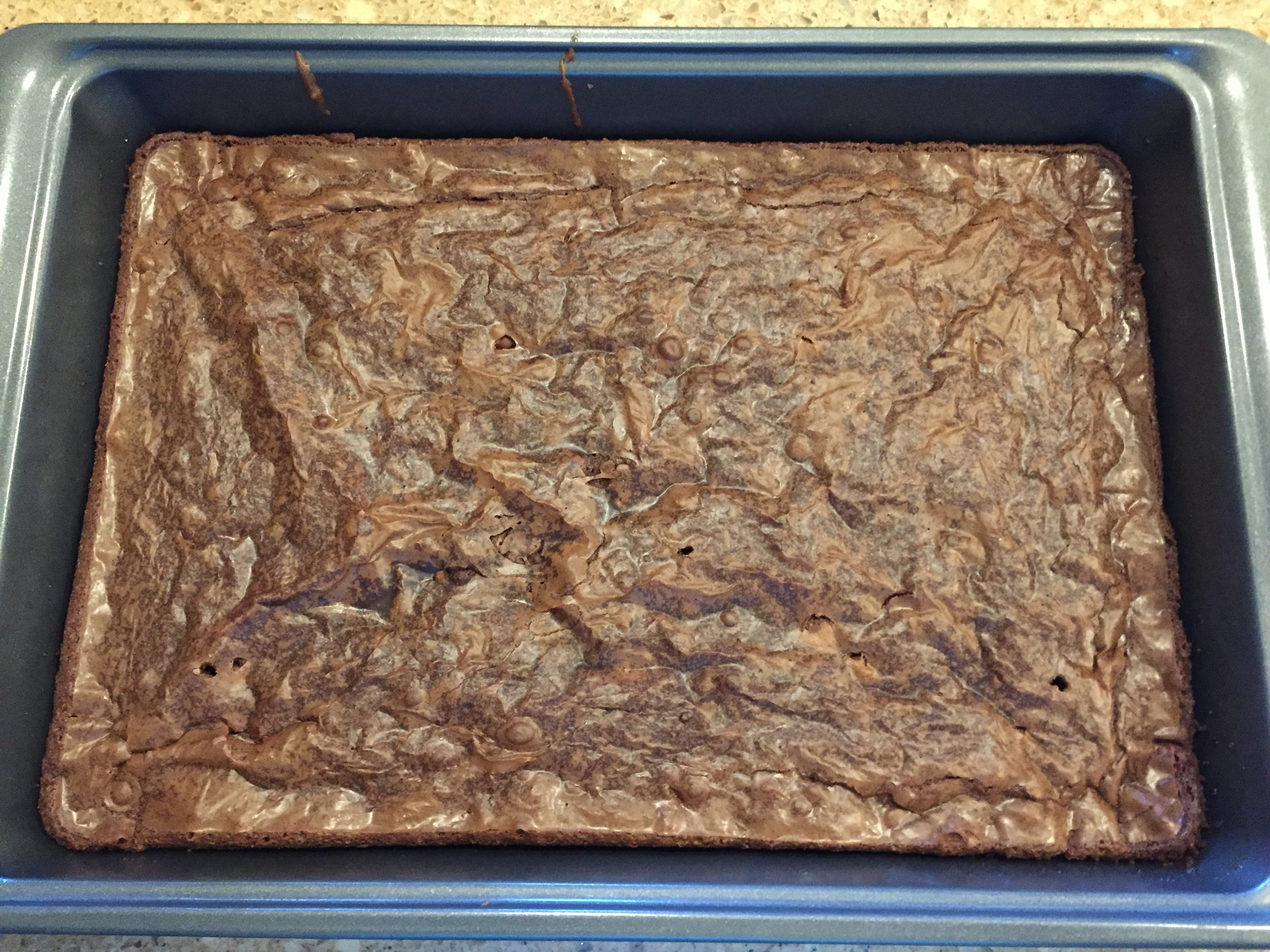 (Brownies for Jaz's Mom -- PHOTO COPYRIGHT 2017 BY JAZ PRIMO)