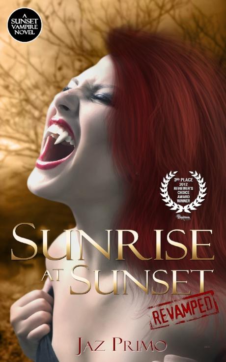 Sunrise at Sunset: Revamped Novel Cover