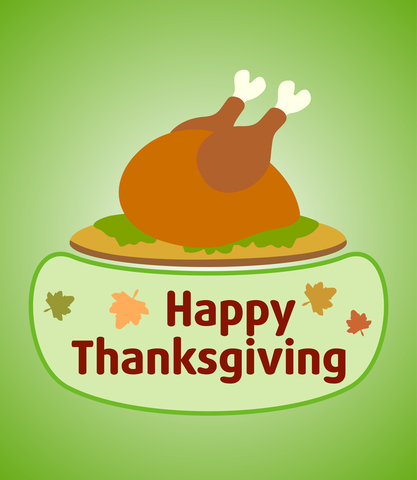 Happy Thanksgiving! Time to gobble till you wobble...