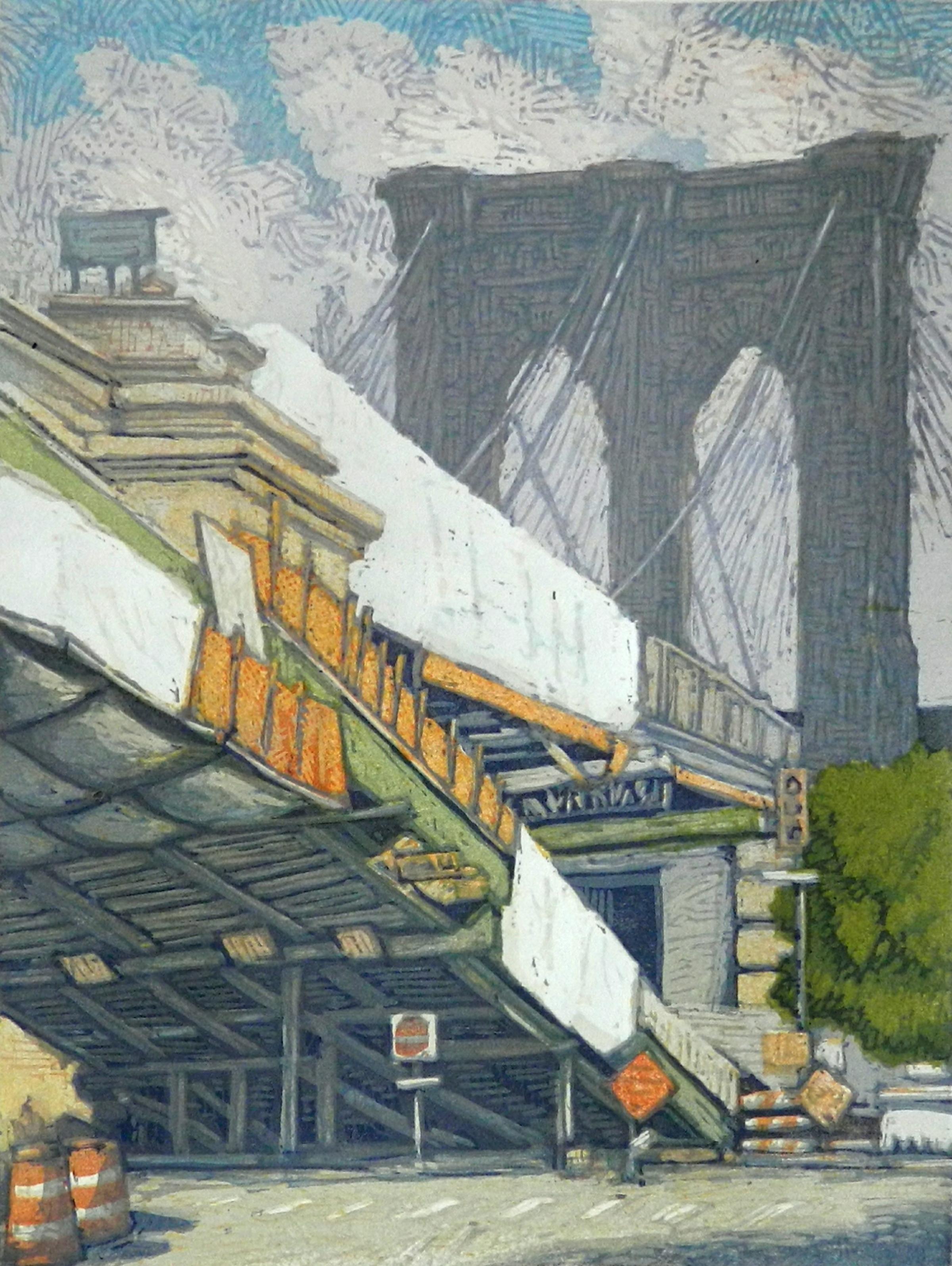 Brooklyn Bridge a la Cristo