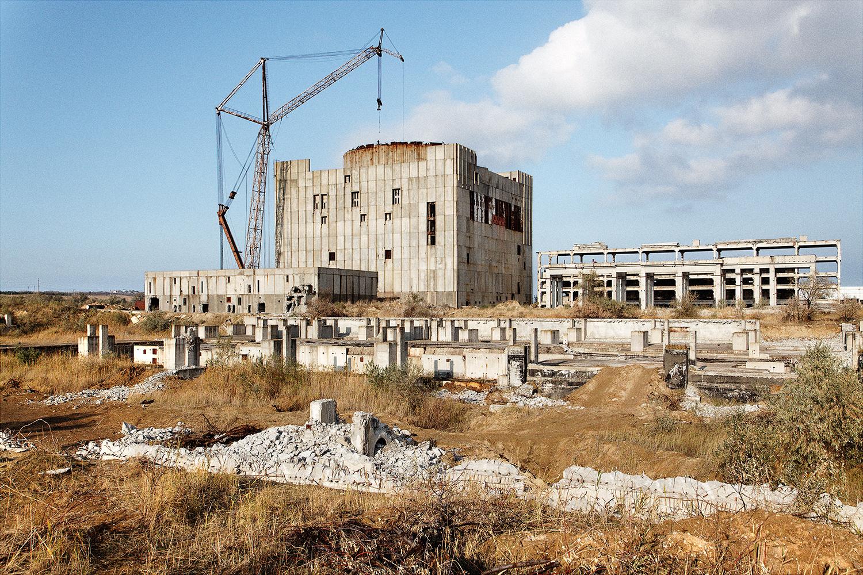 Crimean Nuclear Powerplant, Ukraine - 2010 - 45x60cm