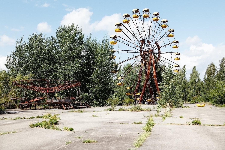 Grande roue, Pripyat, Ukraine - 2010 - 45x60cm