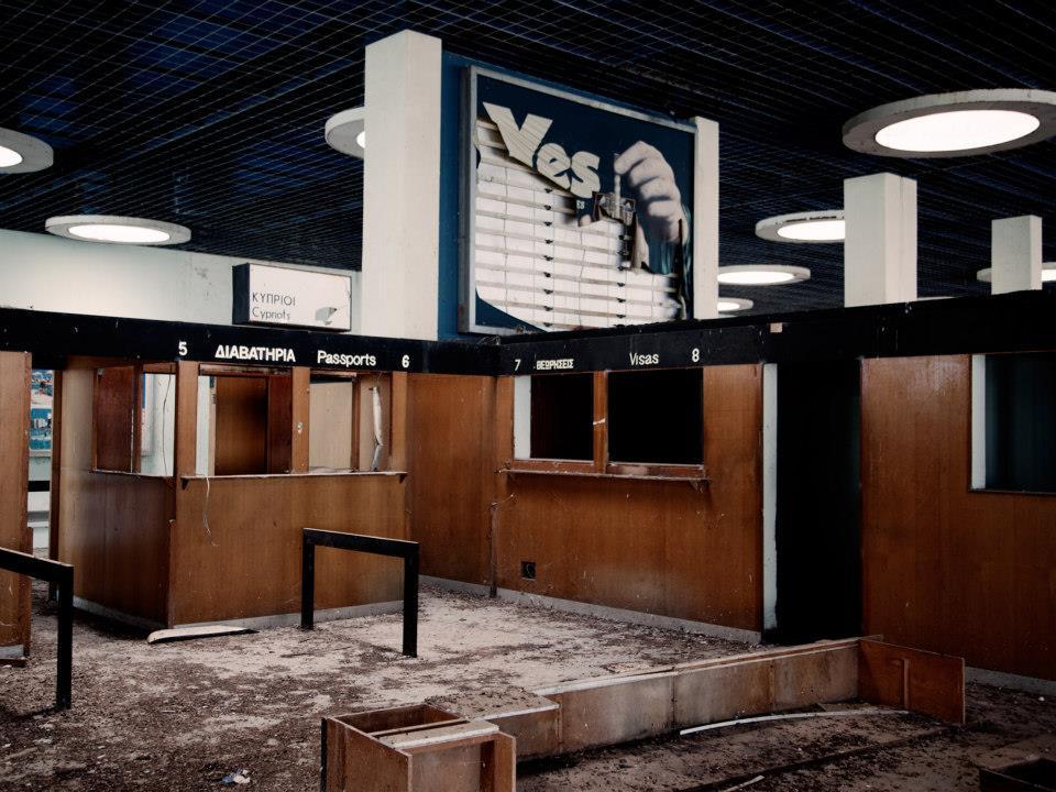 UNFICYP buffer zone - L'aéroport de Nicosie