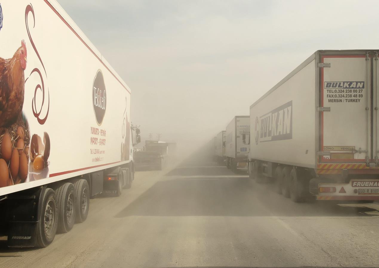 Arrivée en Irak
