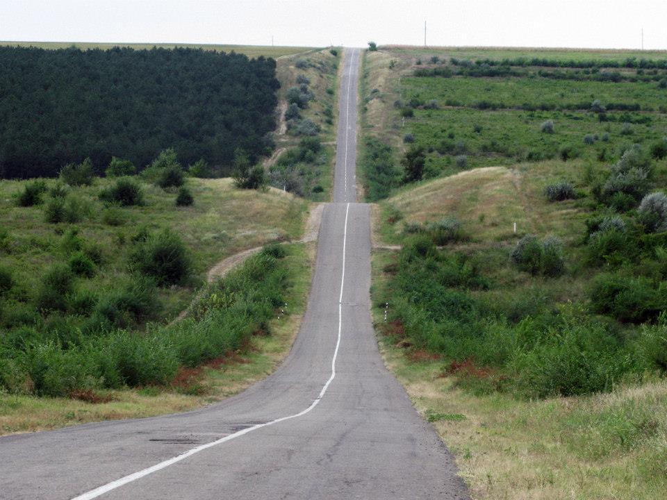 Sur la route, en Moldavie