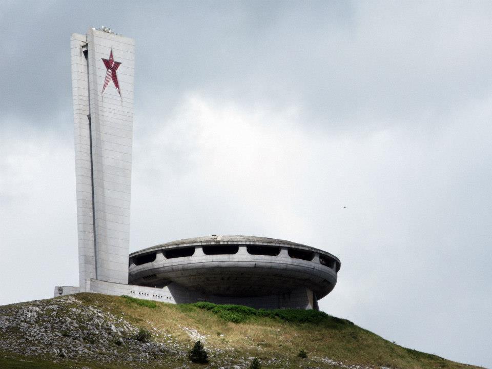 Buzludzha, maison du Parti communiste bulgare