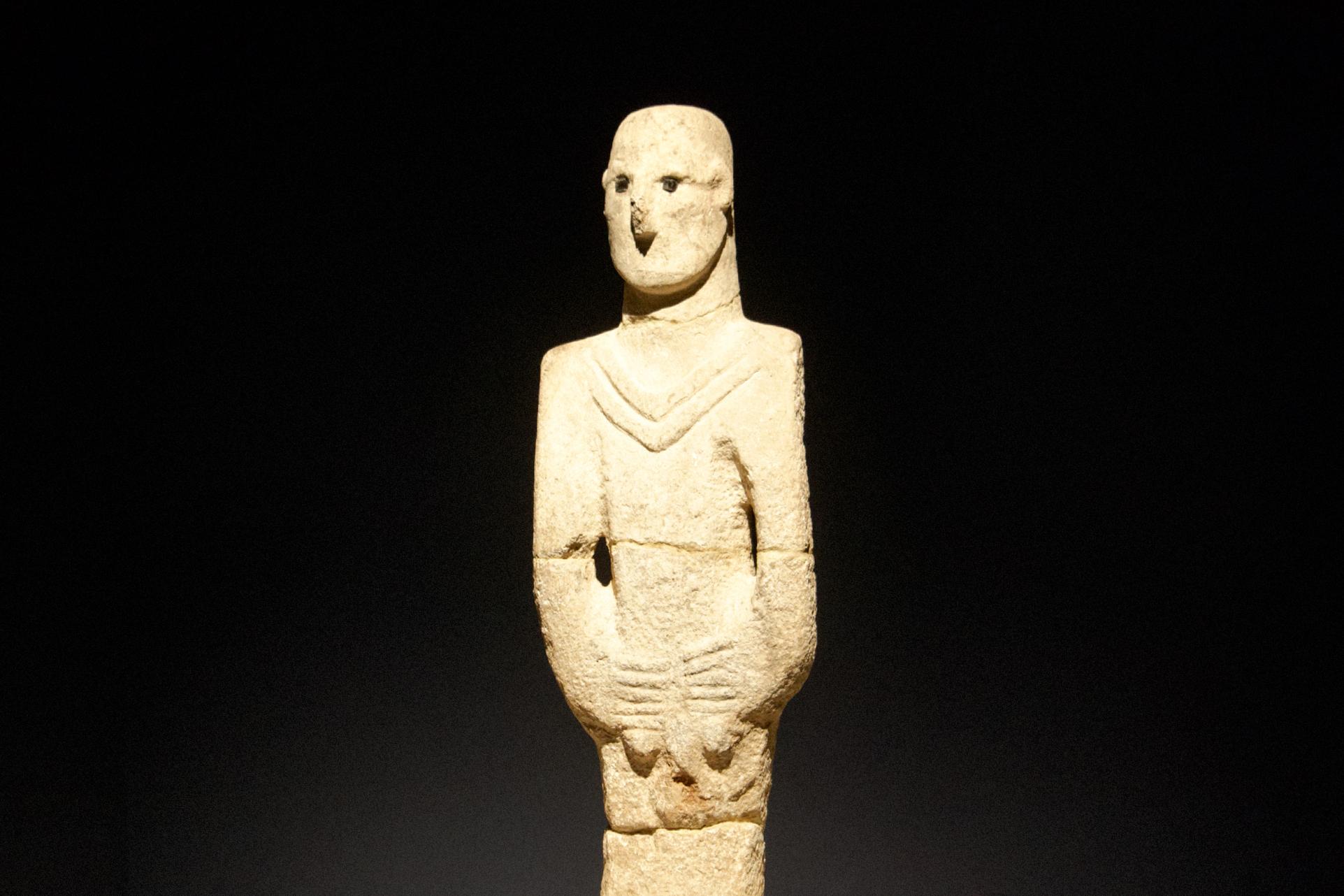 L'homme d'Urfa, statue deBalikligöl - 13500 ans