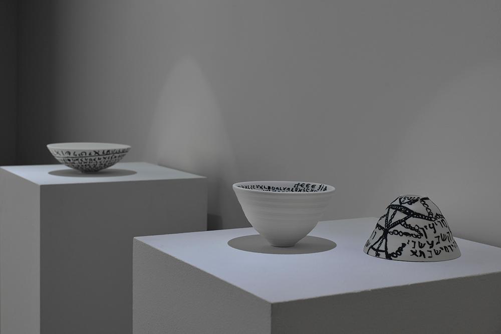 vue de l'exposition EMPIRISTES Bourse Révélations Emerige 2015 Commissaire: Gaël Charbau © Rebecca Fanuele