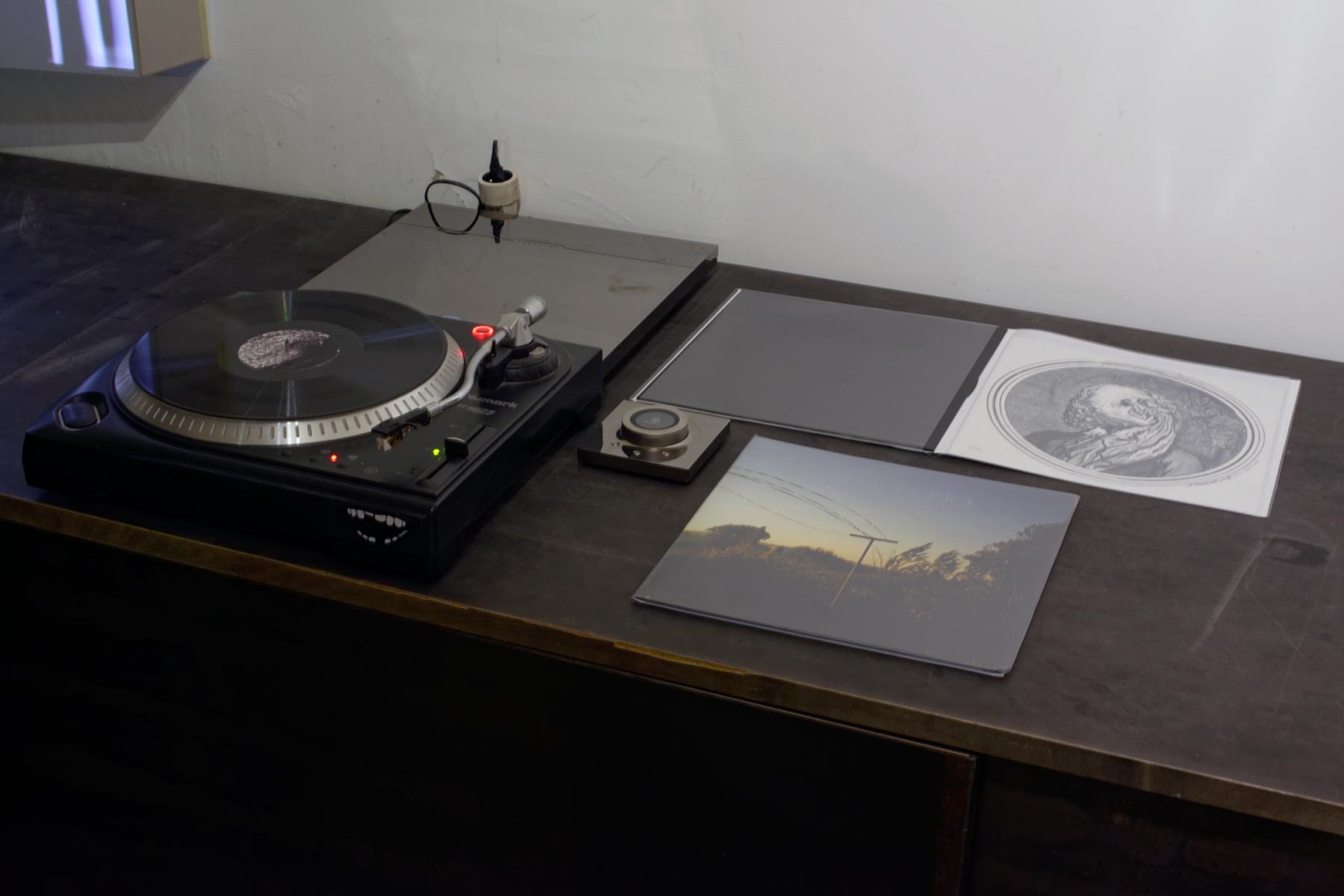 Rémi Dal Negro -  PRIMAVERA  - Vinyle 33TR + Sérigraphie sur papier 300g, 30x30cm - édition de 92 exemplaires + 8 épreuves d'artiste. courtesy galerie Eric Mouchet
