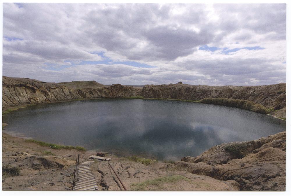 Lac - Polygone Nucléaire de Semipalatinsk - Kazakhstan, 2016