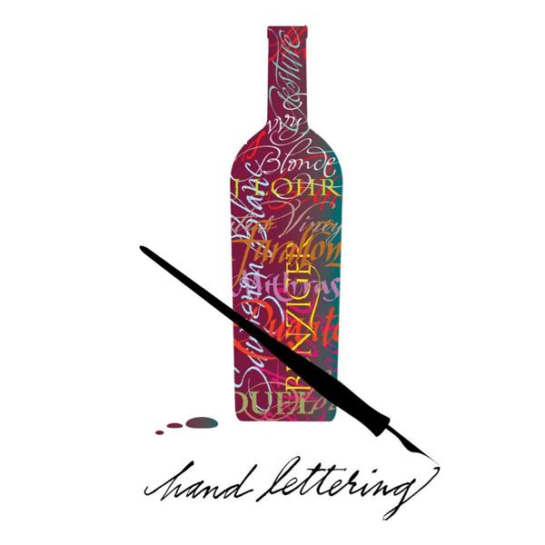 Hand-lettering illustration