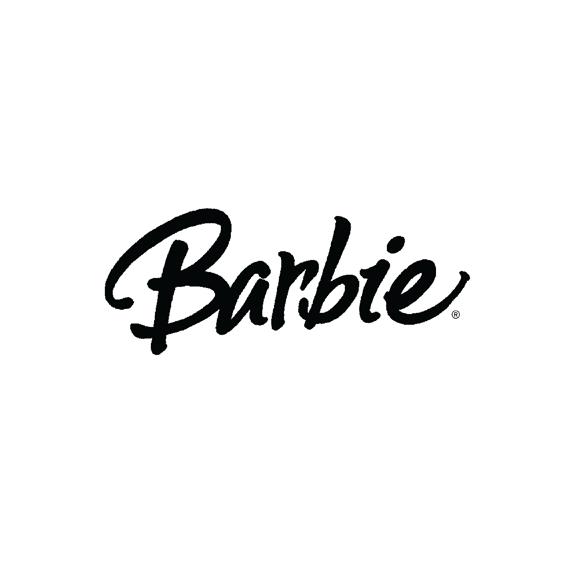 Barbie logo design/lettering