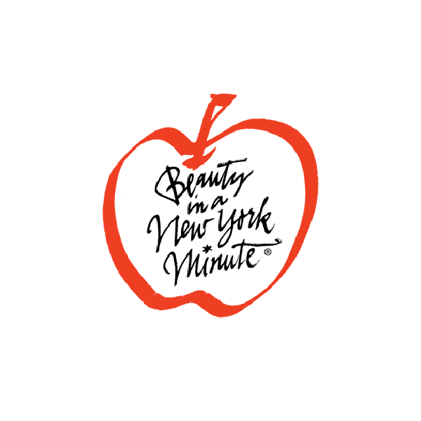 Beauty In A New York Minute logo/lettering